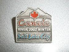 TEAM CANADA WINTER 2002 SALT LAKE CITY PIN