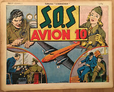 COLLECTION L'AUDACIEUX: S.O.S Avion 10 - BE- 1946 (Mellies)