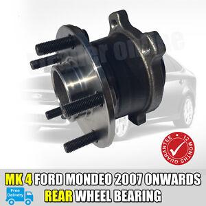 FORD MONDEO TDCI DIESEL MK4 REAR WHEEL BEARING HUB 2007-2014 NEW