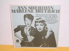 LP - ANN SHERIDAN - MARLENE DIETRICH