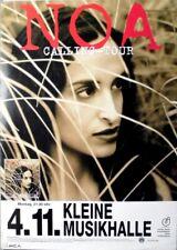 NOA - ACHINOAM NINI  - 1996 - Plakat - Calling Tour - Poster - Hamburg