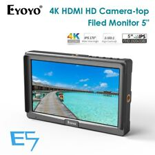 "Eyoyo E5 5"" HD On-camera Video Field HDMI 4k for Gimbal Stabilizer Sony Canon St"