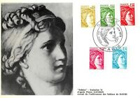 Card Maximum FDC France Sabine Pierre Gandon 1978 Paris