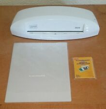 Staples 95 Inch Laminator Thermal And Cold Laminating Machine Model 26530 White