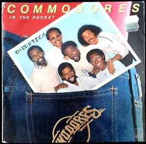 COMMODORES - In The Pocket - Spain LP Motown 1981 - Lady, Saturday Night