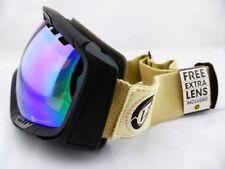 Von Zipper Goggles FEENOM Shift into Neutral - Chrome + Bonus Yellow Lens