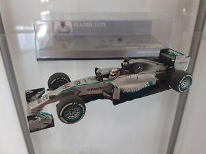 Minichamps 1/43 Mercedes W05 World Champion L. Hamilton 2014