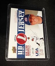 2009 Upper Deck Signature Stars USA Star Prospects Patch #18 AJ Vanegas  10/25