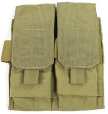 Eagle Allied Industries SFLCS Khaki Tan 2x2 Double 5.56 MOLLE Magazine Pouch