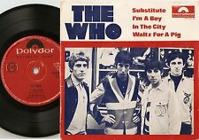 THE WHO SUBSTITUTE & IM A BOY EP AUSTRALIA 45+PS 1967 MOD FREAKBEAT HIGH NUMBERS