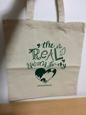 "Macys Bonus ""Real Natural Beauty"" Shopping Shoulder Tote Bag Canvas"