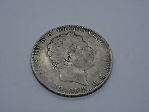 Collectable Antique 1819 George III Sterling Silver Crown Coin