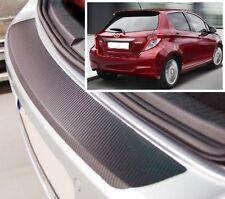 Toyota Yaris MK3 - Carbon Style rear Bumper Protector