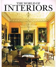 THE WORLD OF INTERIORS 10/2011 VEN HOUSE Christopher Gibbs CAFFE PEDROCCHI @excl