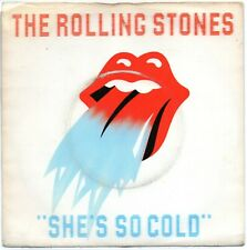 """The Rolling Stones - She's So Cold (7"""" Single 1980)"""