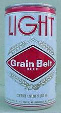 GRAIN BELT LIGHT BEER Can, Heileman, La Crosse, WISCONSIN 1981 issue, Grade 1/1+