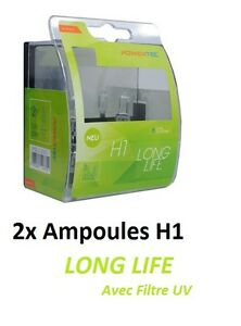 2x AMPOULES H1 POWERTEC LONG LIFE FORD CAPRI III