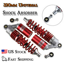 12.6in Motorcycle Shock Absorber Universal Dampers 320mm Round End Fit For CCM