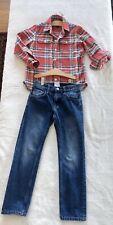 Gapkids Shirt & H&M Jean Boy Size 6-7