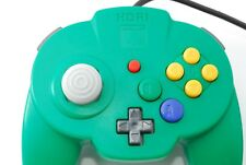 HORI PAD MINI NINTENDO64 Controller [Exc] Green Tested & Working from JAPAN
