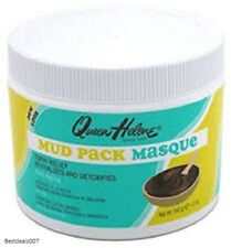 Queen Helene Mud Pack Masque Facial Clay Mask Cleanser Skin Treatment 12oz
