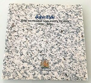 John Fyfe: One Hundred and Fifty Years, 1846 - 1996 Aberdeenshire GRANITE