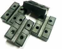 Lift Pads, rectangular replacement rubber pads for car lifts set of 4