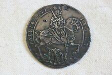 German States Saxony 1657 Vicariat Taler Coin  VZ/F.STG Thaler   RARE
