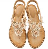 Women' casual flat slippers slipper comfortable Bohemian sandals European size