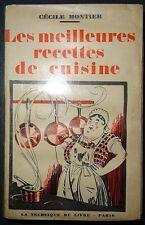 MONTIER: Les meilleures recettes de cuisines