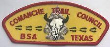 Comanche Trail Council BSA T1 CSP Plastic Back