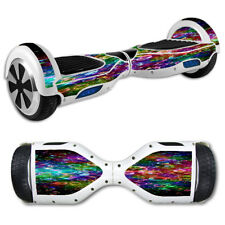 Skin Decal for Hoverboard Balance Board Scooter / Rainbow bubbles