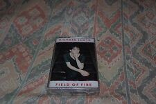 Richard LLoyd, field of fire, cassette tape (new and sealed)