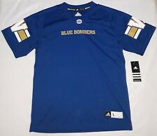 Adidas WINNIPEG BLUE BOMBERS Home CFL Boys Jersey L