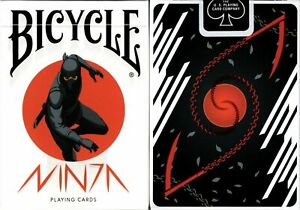 Ninja Bicycle Playing Cards Poker Size Deck USPCC Custom Limited New