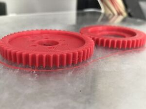 Thunder Tiger SSK Spur Gear set 44 And 50 Teeth PD6437 -PETG 3D printed parts