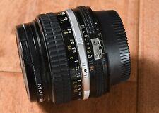 Nikon Nikkor Manual Focus 50mm f1.4 AiS Lens Nice Film & digital w L37 Filt/Caps