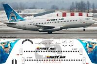 V1 Decals Boeing 737-200 First Air for 1/144 Airfix Model Airplane Kit V1D0002