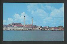 Industry Cane Sugar postcard Rio Haina Sugar Mill Santa Domingo Dominican Rep.