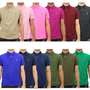 Polo Ralph Lauren Custom Slim Fit Poloshirt Polohemd Herren 710680784