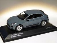 PROMO : Porsche MACAN de 2013 gris au 1/43 de Minichamps