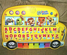 LeapFrog Leap Frog Magic Touch School Bus Alphabet ABCs Numbers Music