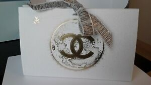SALE! NEW CHANEL LIMITED EDITION CHRISTMAS 2020 GIFT BOX WITH RIBBON