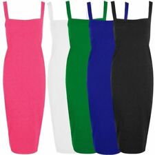 Viscose Square Neck Dresses for Women