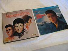 Memories of Elvis Presley Tribute Christmas Album set