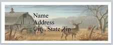Personalized Address Labels Country Deer Buy 3 get 1 free (bx 680)