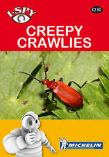 I Spy Creepy Crawlies,Insect Book,Guide,Garden Insects