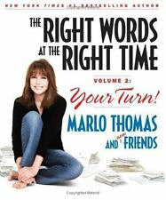 Marlo Thomas~THE RIGHT WORDS AT THE RIGHT TIME VOL 2: YOUR TURN~SIGNED 1ST/DJ