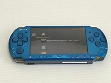 PSP Playstation Portable Vibrant Blue PSP-3000VB Pre-owned Free shipping