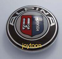 73mm ALPINA EMBLEM TRUNK E90 E60 E71 E83 E32 X3 X5 M EMBLEM BADGE 2 PINS #J318